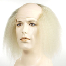 Morris Costumes LW-194WT Tramp Bald Barg White