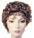 Morris Costumes LW-19DBNGY Gibson Girl Dlx Dk Bn Gy 56