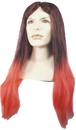Morris Costumes LW-33BKRD Oz Man Long Black Red