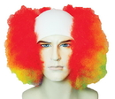 Lacey Wigs LW-72RB Bald Curly Clown Rainbw