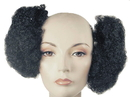 Morris Costumes LW-732BK Afro Puff Set Black