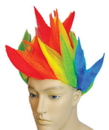 Lacey Wigs LW-73RB Clown Spike Rainbow