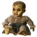 Morris Costumes MR-122608 Haunted Doll With Sound