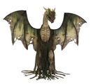 Morris Costumes MR-124633 Winter Forest Dragon Animated
