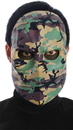 Morris Costumes MR-131129 Camo Hockey Mask