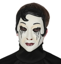 Morris Costumes MR-131546 Emo Girl Goth Beauty Mask