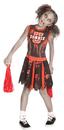 Morris Costumes MR-143178 Undead Cheerleader Child Large
