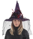 Morris Costumes MR-156220 Whimsical Witch Hat