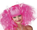 Morris Costumes MR-177019 Wig Pixie Pink Rose