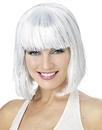 Morris Costumes MR-177050 Wig White Shimmering Bob
