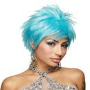 Morris Costumes MR-177599 Blue Vivid  Wig
