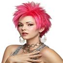 Morris Costumes MR-177601 Hot Pink Vivid Wig