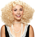Morris Costumes MR-177666 Wig Embrace The Frizz Blonde