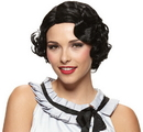 Morris Costumes MR-177681 Wig Gatsby Girl Black