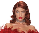 Morris Costumes MR-177695 Wig Femme Fatale Red