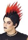 Morris Costumes MR-178002 Wig Punk Rocker Red