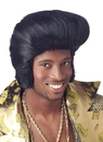 Morris Costumes MR-178009 Dollar Daddy Black Wig
