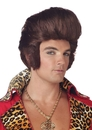 Morris Costumes MR-178010 Dollar Daddy Brown Wig