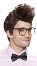 Morris Costumes MR-178124 Mens Wigs  Hipster Brown
