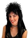 Morris Costumes MR-179001 Wig Spiked Top Black