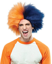 Morris Costumes MR-179581 Sports Fun Wig Navy Blue Orang
