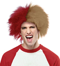 Morris Costumes MR-179595 Sports Fun Wig Red Gold