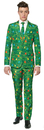Morris Costumes OS-A0015SM Christmas Tree Grn Suit Ad Sm