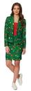 Morris Costumes OS-WM0014SM Women Christmas Green Tree 8