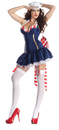 Party King PK-175MD Pin Up Sailor Body Shaper 8-10