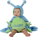 Morris Costumes PP-4630TM Crabby Tod 12/18M