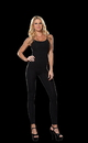 Dreamgirl RL-0072ML Unitard Black Medium/Large