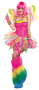 Dreamgirl RL-9566XL Rainbow Fairy Adult Xlarge