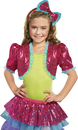 Dreamgirl RL-9601PKSD Dance Craze Bolero Pink Sm Med