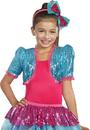 Dreamgirl RL-9601TQSD Dance Craze Bolero Turq Sm Med