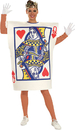 Rubie's RU-16586 Queen Of Hearts Card Adult