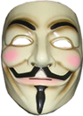 Rubie's RU-4418 V For Vendetta Mask