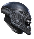 Rubie's RU-4472 Alien Child Vinyl Mask