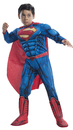 Morris Costumes RU-610831LG Superman Child Dlx Large