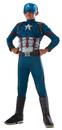 Morris Costumes RU-620591SM Ca3 Captain America Child Smal