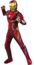 Morris Costumes RU-620592MD Ca3 Iron Man Child Medium