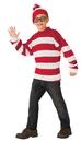 Rubie's RU-641378LG Where'S Waldo Dlx Child Lg