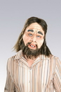 Rubie's RU-68157 Caveman Latex Mask
