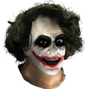 Rubie's 68168 Joker Latex Mask W Hair