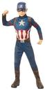 Rubie's RU-700647MD Captain America Child Md