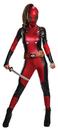 Morris Costumes RU-810984MD Deadpool Lady Medium