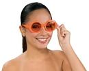 Rubie's RU-8245 Glasses Fabulous Capri Orange