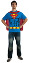 Rubie's 880470XL Superman Shirt Xlarge