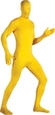 Rubie's RU-880510 Skin Suit Yellow One Size