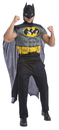 Rubie's RU-880528 Batman Muscle Shirt Cape Adt