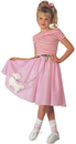 Rubie's 882221LG Nifty Fifties Costume Child Lg